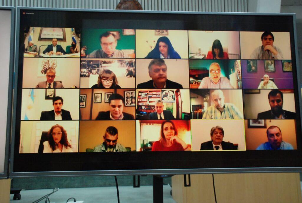 La octava sesión ordinaria se realizó bajo modalidad virtual