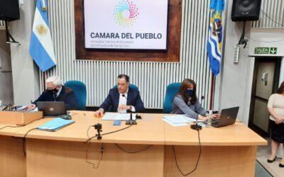 Legisladoras y Legisladores realizaron la Séptima Sesión Ordinaria