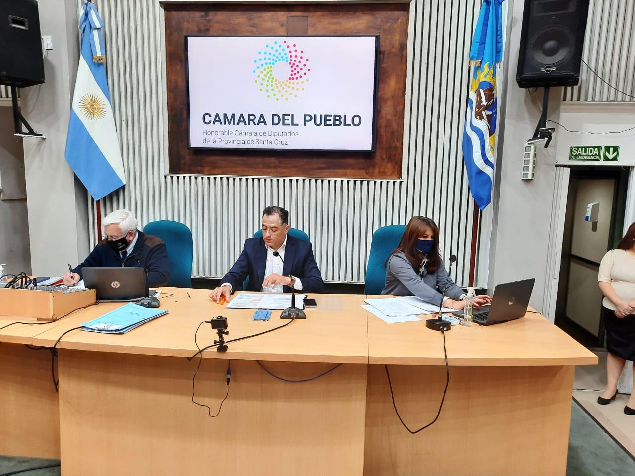 El Vicegobernador Eugenio Quiroga presidió la 7ma Sesión Ordinaria del presente periodo legislativo.