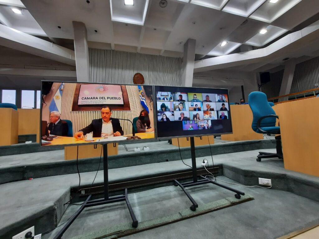 La sesión ordinaria se realizó mediante metodología virtual